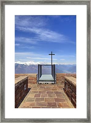 Monte Tamaro Framed Print