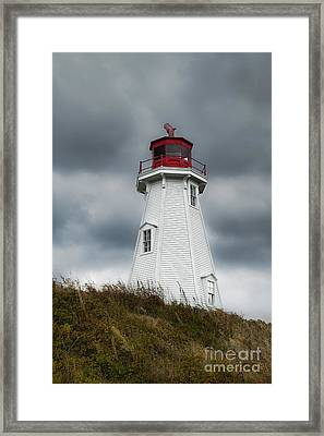 Mulholland Lighthouse Framed Print by John Greim