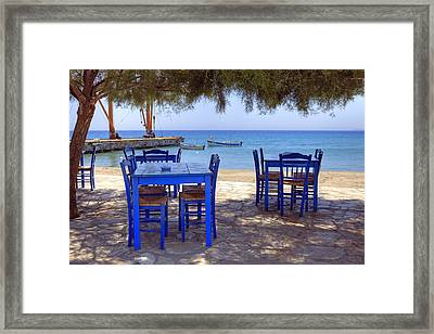 Naxos - Cyclades - Greece Framed Print