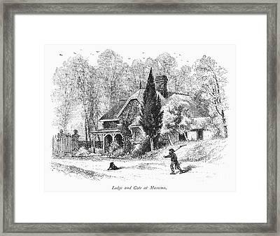 New York State: House Framed Print by Granger