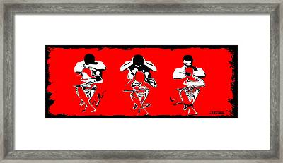 3 No Evils 2 Framed Print by Jann Paxton