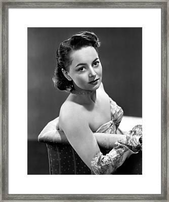 Olivia De Havilland, 1946 Framed Print by Everett