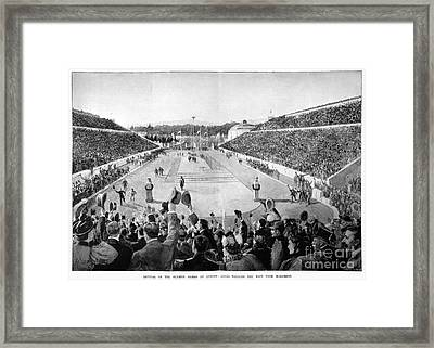 Olympic Games, 1896 Framed Print by Granger