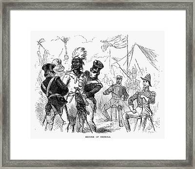 Osceola (1800?-1838) Framed Print by Granger