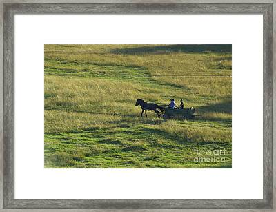 Peoples Framed Print