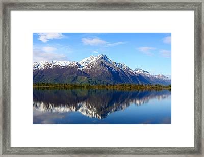 Pioneer Peak Framed Print