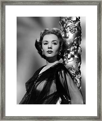 Piper Laurie, 1952 Framed Print by Everett