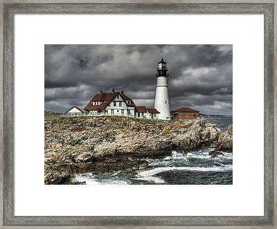 Portland Head Lighthouse Framed Print