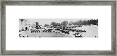 President Warren Hardings 1865-1923 Framed Print by Everett