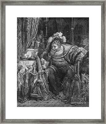 Rabelais: Pantagruel Framed Print by Granger