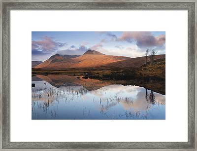 Rannoch Moor At Sunrise Framed Print