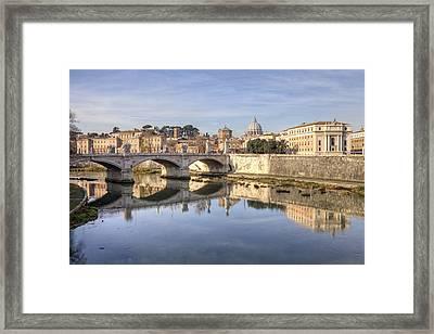 Rome - St. Peter's Basilica Framed Print by Joana Kruse