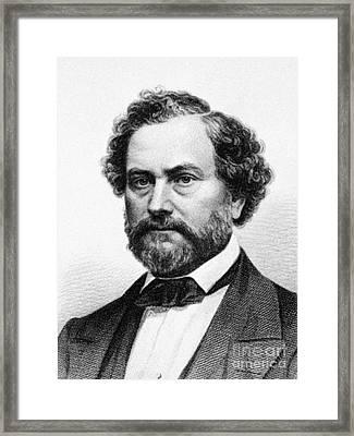Samuel Colt (1814-1862) Framed Print by Granger