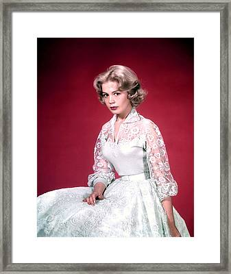 Sandra Dee, Ca. 1950s Framed Print by Everett