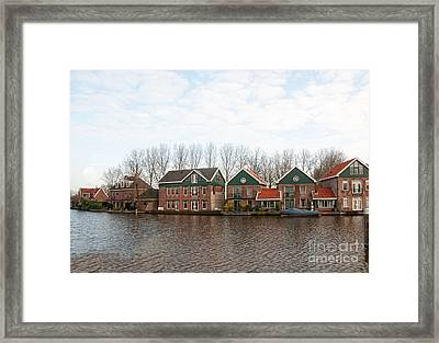 Scenes From Amsterdam Framed Print by Carol Ailles