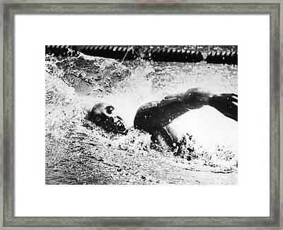 Shane Gould (1956- ) Framed Print