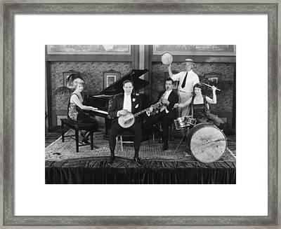 Silent Still: Musicians Framed Print by Granger