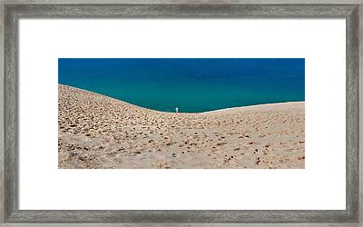Sleeping Bear Dunes  Framed Print by Twenty Two North Photography