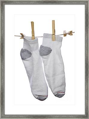 Socks Framed Print by Blink Images