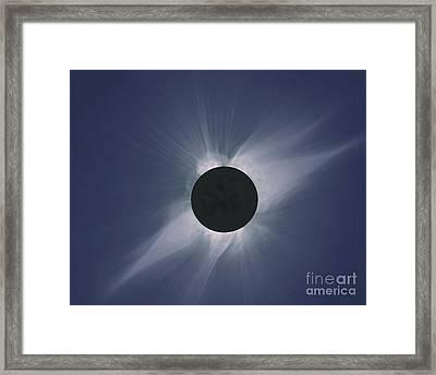 Solar Eclipse Framed Print by Nasa