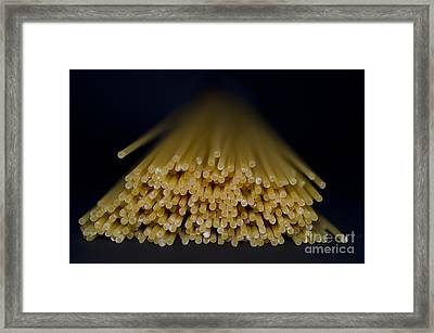 Spaghetti Framed Print