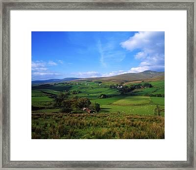 Sperrin Mountains, Co Tyrone, Ireland Framed Print