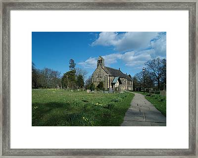 St John The Baptist Adel Framed Print