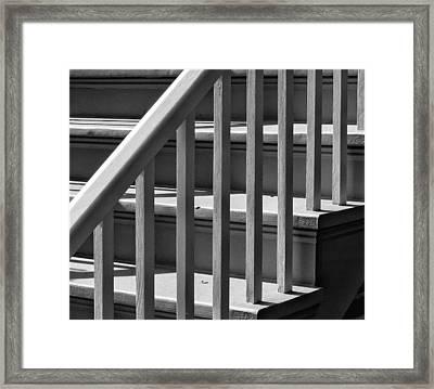 Stairs Framed Print by Robert Ullmann