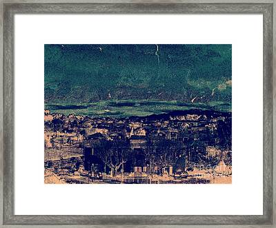 Storm. Framed Print by Peter Szabo