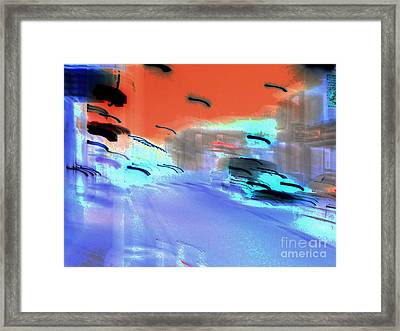 Street-2012 Framed Print by Peter Szabo