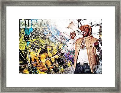 Street Phenomenon Busta Framed Print by The DigArtisT