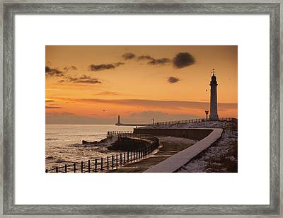 Sunderland, Tyne And Wear, England A Framed Print by John Short