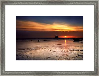 Sunrise Framed Print by Svetlana Sewell