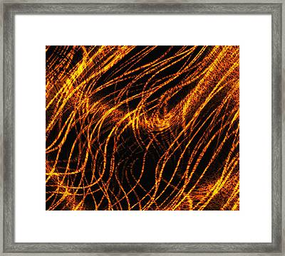 Superstrings, Conceptual Artwork Framed Print by Mehau Kulyk
