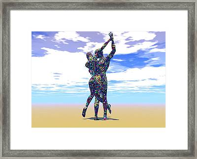 Surreal Dance Framed Print