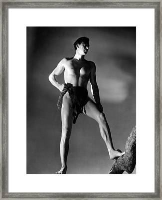 Tarzan And His Mate, Johnny Framed Print by Everett