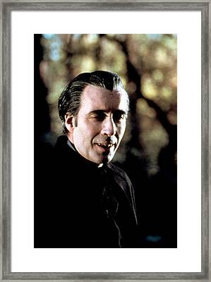 Taste The Blood Of Dracula, Christopher Framed Print by Everett