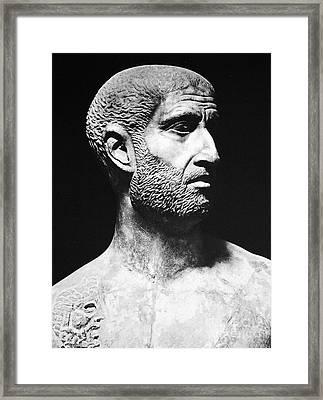 Terence (186?-159 B.c.) Framed Print by Granger