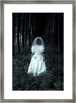 The Bride Framed Print by Joana Kruse
