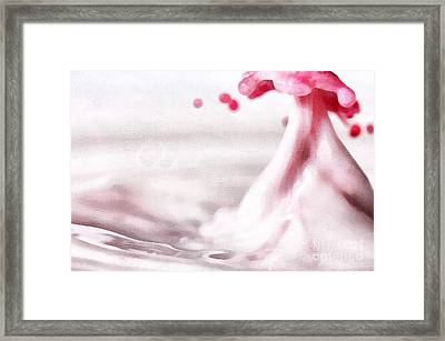The Drops Framed Print