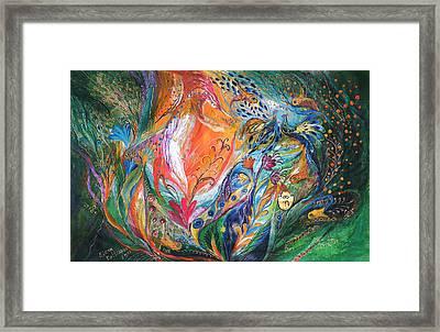 The Glade Framed Print by Elena Kotliarker
