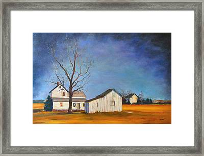 The Last Farm Framed Print
