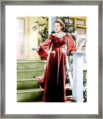 The Letter, Bette Davis, 1940 Framed Print by Everett