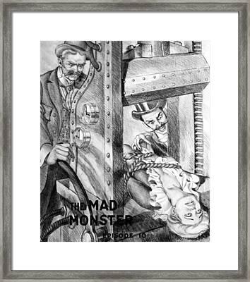The Perils Of Pauline Framed Print by Granger