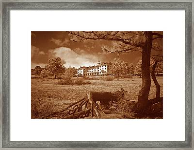 The Stanley Hotel Framed Print by G Wigler