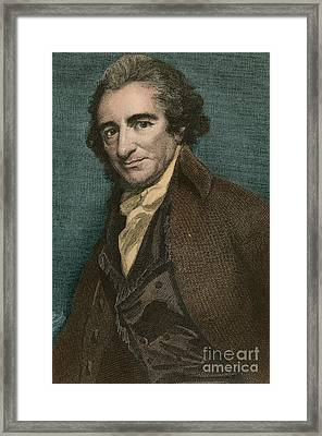 Thomas Paine, American Patriot Framed Print
