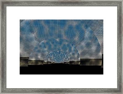 Twirling Shine Framed Print by Mihaela Stancu