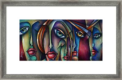 Urban Expressions Framed Print by Michael Lang