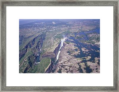 Victoria Falls Framed Print by Carlos Dominguez