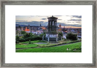 View Of Scotland Framed Print by Jose Luis Cezon Garcia